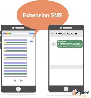 Extension dannonces SMS